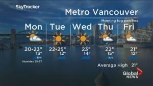 B.C. evening weather forecast: September 5 (02:05)