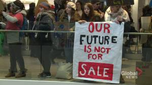 Halifax group demanding action on climate change took aim at Black Friday shoppers