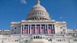 Stage set for Joe Biden's inauguration as 46th U.S. president (03:56)