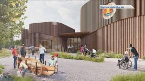 Design for proposed Indigenous friendship centre in Fredericton unveiled (01:56)