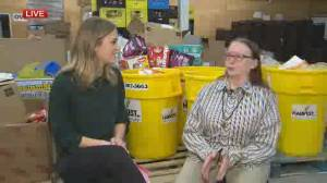 Winnipeg Harvest client shares her experience at the food bank
