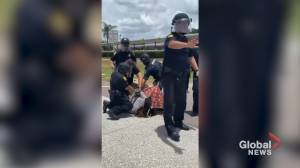 Tampa police clash with protesters during Independence Day demonstration