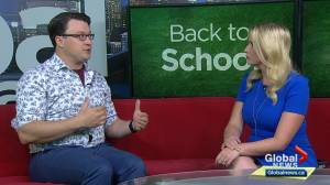Calgary psychologist discusses best ways to deal with back-to-school stress