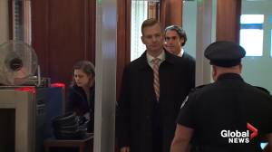 David Holmes, official from U.S. Embassy in Ukraine arrives for closed door testimony