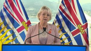Dr. Bonnie Henry says province is looking at COVID-19 vaccine passport options (02:10)