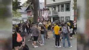 Multiple arrests made, tickets issued at rowdy Halifax street party (02:00)
