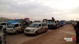 Over 230,000 people flee Idlib during Russian-backed offensive: UN (01:52)