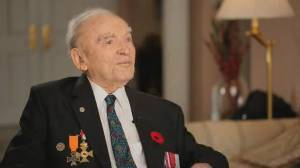 Second World War veteran shares his story