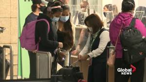 Albertans travelling to B.C need to provide proof of vaccination at certain events (01:48)