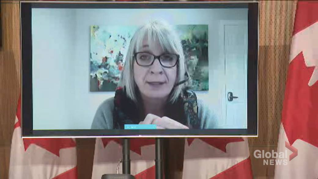 Click to play video 'Coronavirus: Hajdu says decision on AstraZeneca vaccine expected in 'near future''