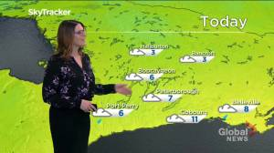A cloudy end to the week, sunshine and above seasonal temperatures expected for the weekend (01:08)