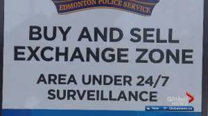 Edmonton police create 'safe exchange zone' for online sales