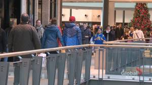 Calgarians brave crowds during busiest shopping day of the year
