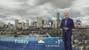 Edmonton early morning weather forecast: Thursday, February 13, 2020