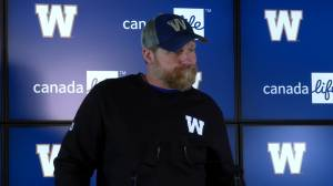 RAW: Blue Bombers Mike O'Shea Media Briefing – Oct. 10