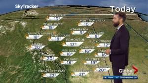 Edmonton afternoon weather forecast: Wednesday, September 16, 2020