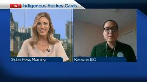 B.C. man collecting Indigenous NHL hockey cards to give to youth (04:22)