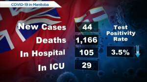 Manitoba's COVID-19 numbers – July 21 (00:21)