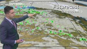 Weekend showers? April 30 Saskatchewan weather outlook (02:36)