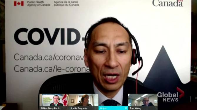 Click to play video: Canada reaches 10.8 million COVID-19 inoculations: Dr. Njoo