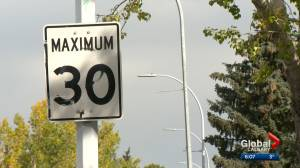 Calgary city council continues to look at lowering residential speed limits