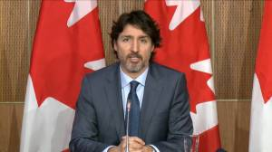 Trudeau says 'very credible reports' back allegations of human rights abuses against Uyghur minority in China (01:22)