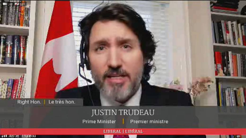 Click to play video 'Trudeau insists Canada on track for vaccine goals amid opposition questions about supply delay'