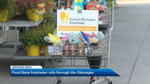 Food Bank fundraiser rolls through the Okanagan (02:12)