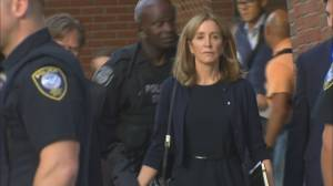 Actress Felicity Huffman sentence in college admissions scandal