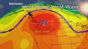 Major heat wave developing in B.C. (02:44)