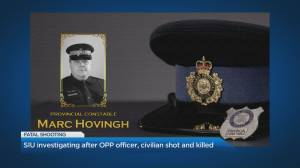 Condolences pour in for OPP officer shot and killed on Manitoulin Island (02:03)