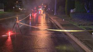 Boy fighting for his life after being struck by a car in Langley
