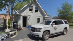 Cobourg house fire sends one person to hospital (00:32)