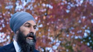 NDP's Singh, Angus hit with defamation claim over N.B. defection remarks