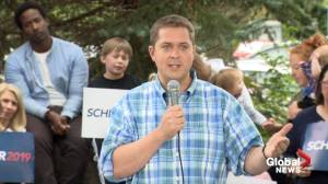 Federal Election 2019: Scheer says refugees entering Canada must make valid claim
