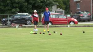 The Kingston Lawn Bowling Club is back in business (02:18)