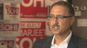 Amarjeet Sohi says racist makeup incidents opportunity to educate