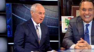 Ron MacLean's 'tarp off' comment during Hockey Night in Canada broadcast prompts backlash, apology (00:27)