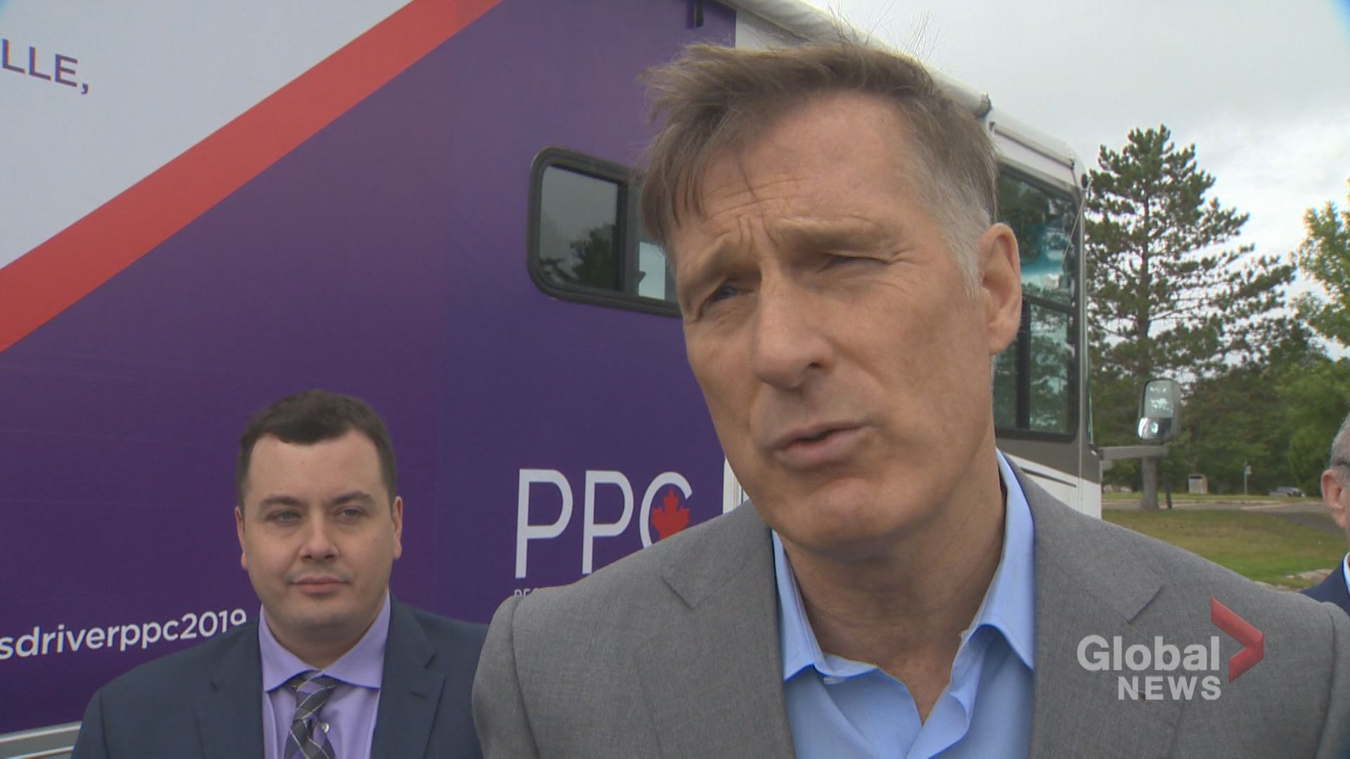 Bernier says PPC has 'momentum' after being included in national debates