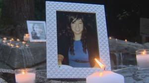 Police search home of missing Langley teacher (02:01)