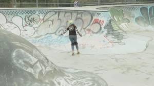 East Van Skate Crows host rollerskating clinic (01:22)