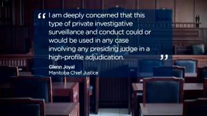 Group fighting COVID-19 restrictions admits tailing Manitoba judge (01:54)