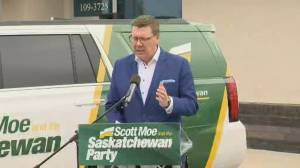 Saskatchewan provincial election called for October 26