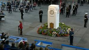 Importance of Remembrance Day for HMCS Unicorn commander