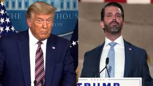 Coronavirus: Trump Jr. tests positive for virus as president continues claims of election fraud (01:48)