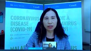 Tam discusses process for Canadian health regulators following Johnson & Johnson COVID-19 vaccine reports (01:28)