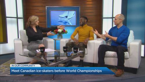 The World Figure Skating championships in Montreal | Watch News Videos Online