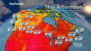 Winnipeg weather outlook: July 23 (01:34)