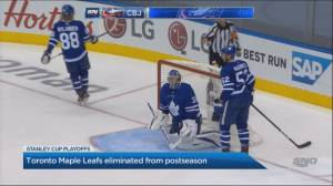 Toronto Maple Leafs eliminated from postseason