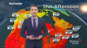 Saskatchewan weather outlook: July 16 (02:15)